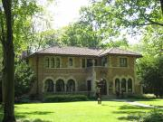 4837 N LAKE DR, a Mediterranean Revival house, built in Whitefish Bay, Wisconsin in 1926.
