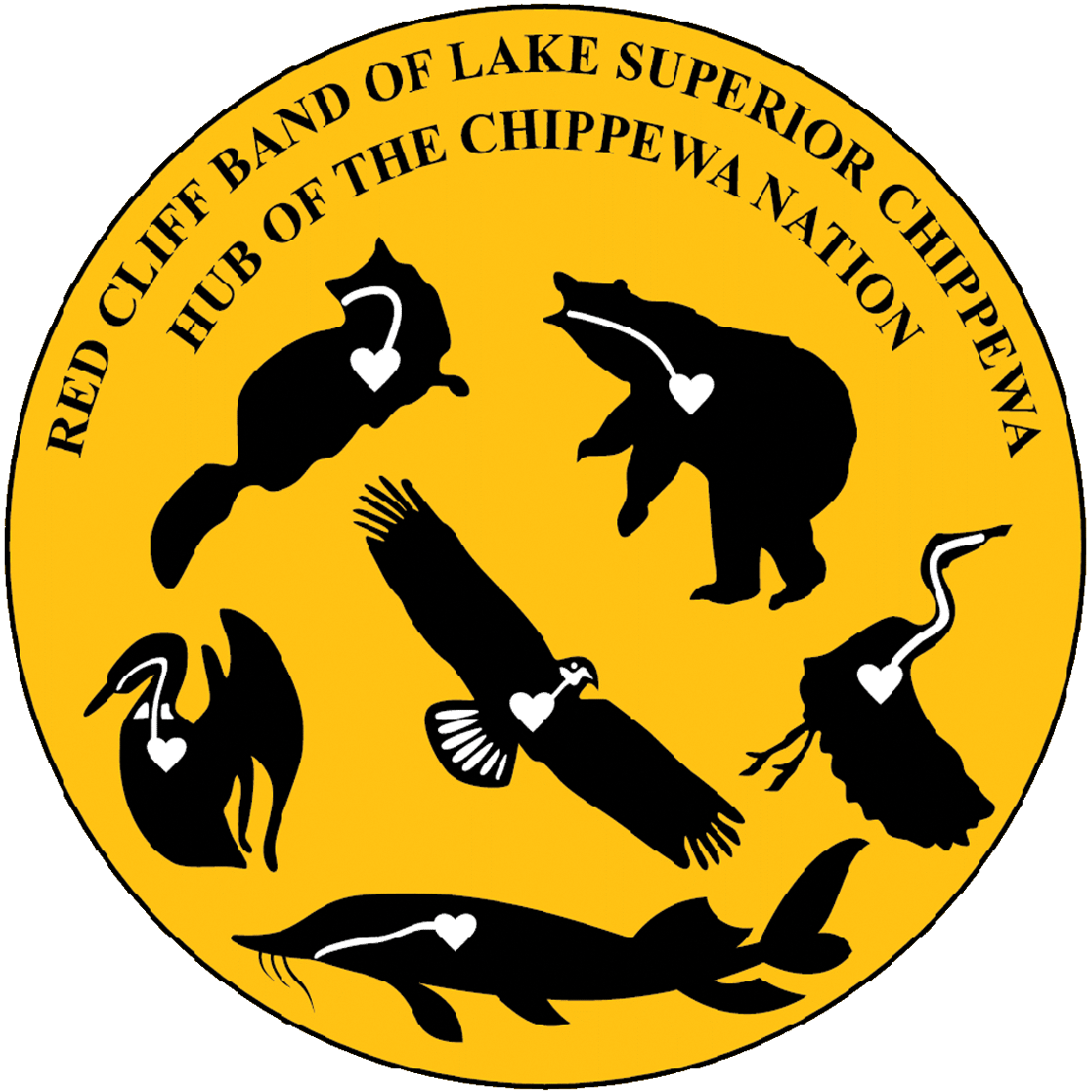 Seal of the Red Cliff Band of Lake Superior Chippewa