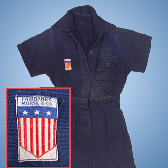 Rosie the Riveter Coveralls